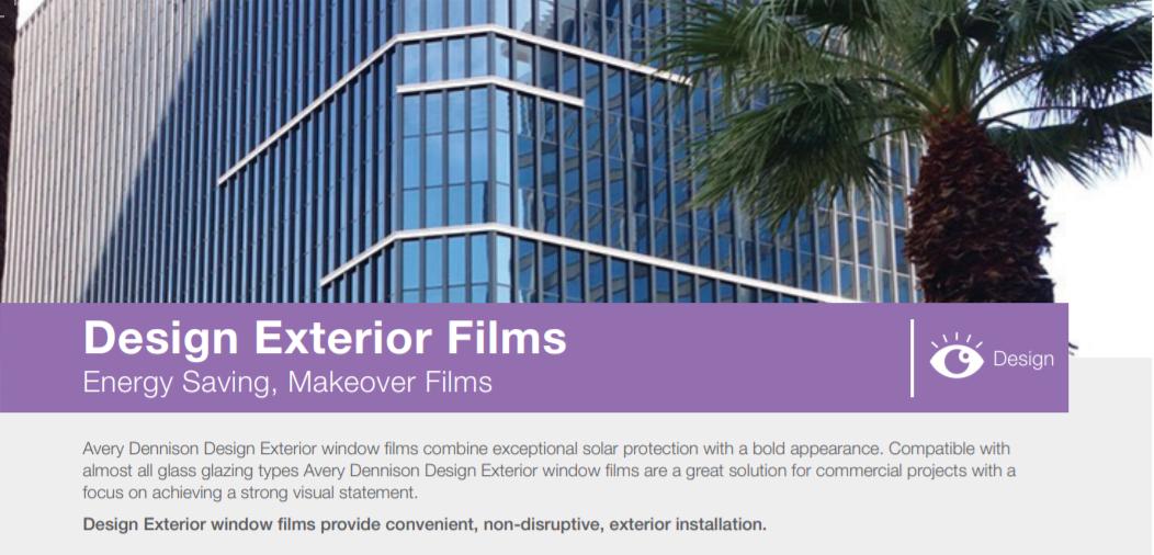 Avery Dennison- designer exterior films