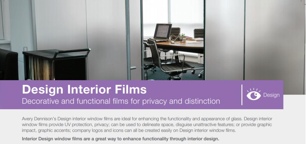 Avery Dennison- Design Interior Films